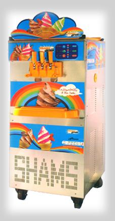 خرید کن دستگاه بستنی ساز 3 قیفه