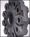 فروش  زره آسياب هاي خود شكن (Auto genous) نيمه خود شكن (Semi autogenous) - انواع فك هاي سنگ شكن از فولادهاي منگنزي (معمولي و پرمنگنز) - چكش براي سنگ شكن هاي چكشي از فولاد منگنزي و چدن پركروم