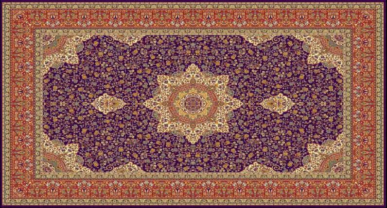 فروش  فرش ستاره کرمان مدل Kerman 1127/52