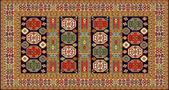 فروش  فرش ستاره بلوچ مدل Baluch 1122/35