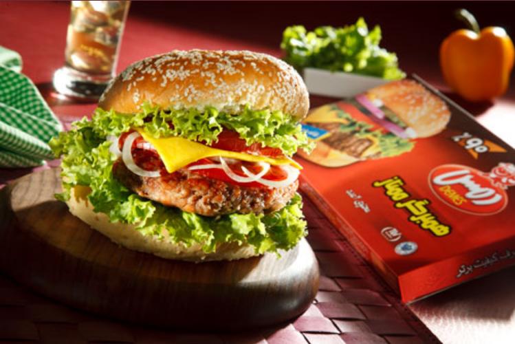 فروش  همبرگر ممتاز90 درصد