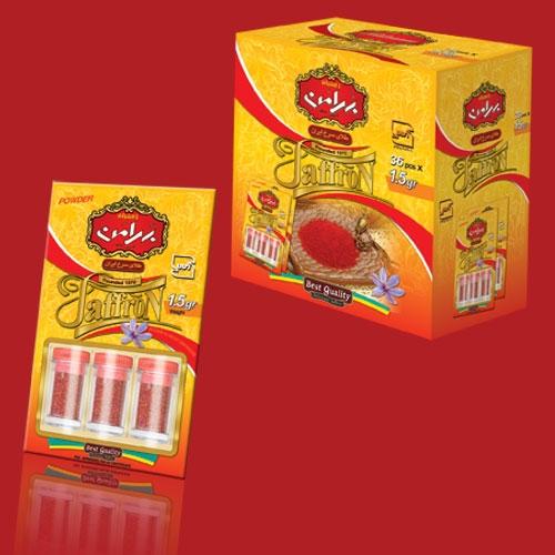 فروش  پودر زعفران بهرامن