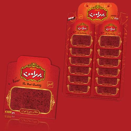 فروش  زعفران ۶۰۸/۴ گرم پاکت ورقی