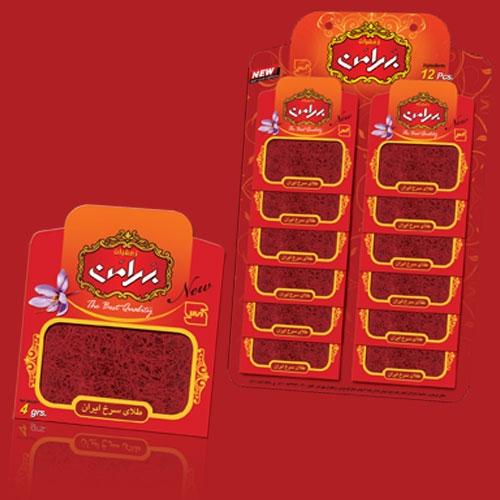 فروش  زعفران ۴ گرم پاکت ورقی