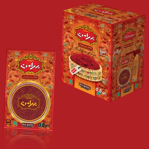 فروش  زعفران ۸/۰ گرم وکیوم