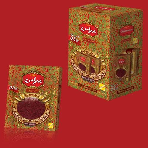 فروش  زعفران ۵/۰ گرم قوطی