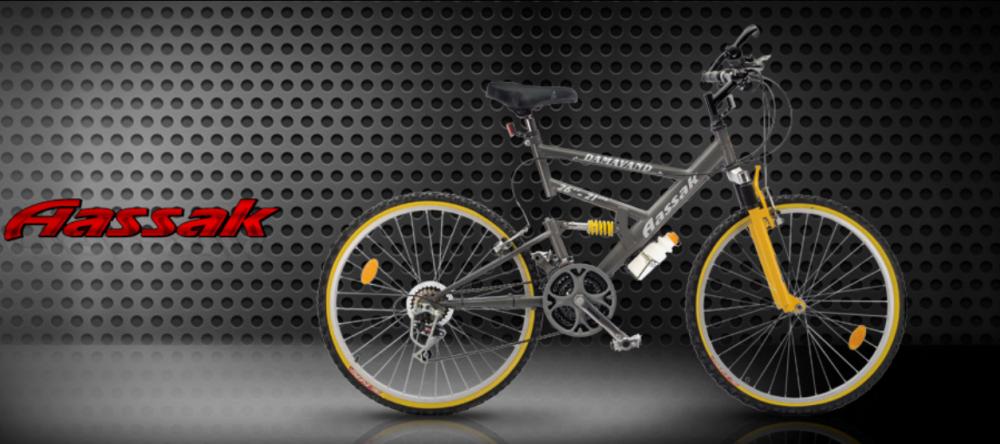 خرید کن دوچرخه دماوند، ۲۶ اینچ، ۲۱ سرعته کمک فنر دار