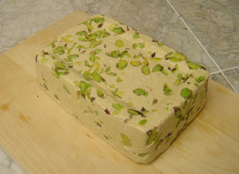 خرید کن حلوا ارده ایرانی با مغز بادام و پسته