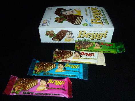 خرید کن ویفر با روکش شکلاتی