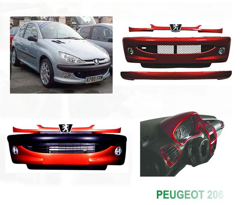 داشبورد خودروي پژو 206 — خرید داشبورد خودروي پژو 206, هزینه , عکس ...