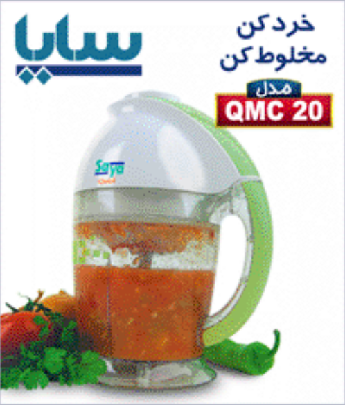خرید کن Qmc 20 خرد کن - مخلوط کن مدل