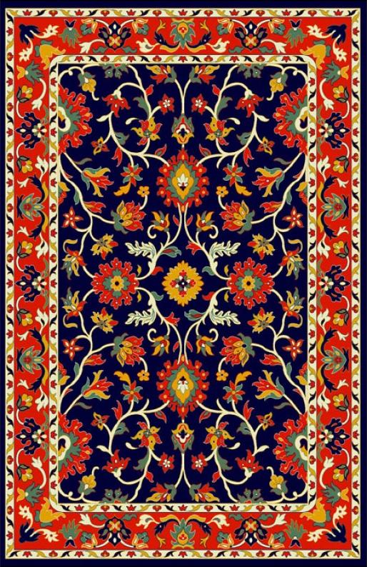فروش  فرش ابریشم مصنوعی 3