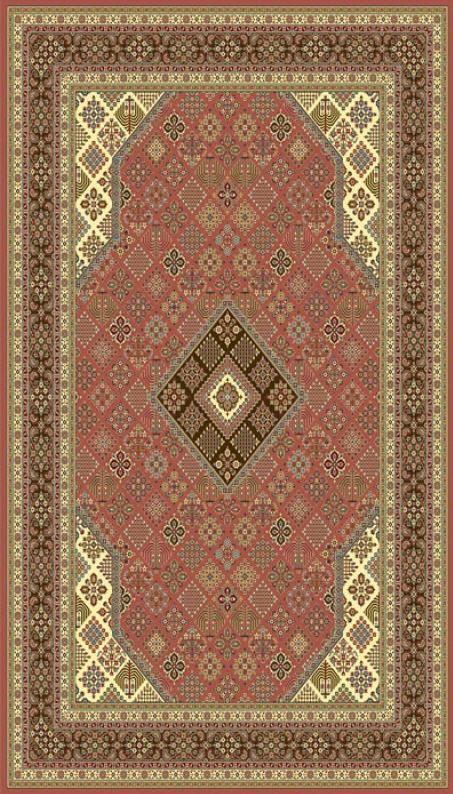 فروش  فرش ابریشم مصنوعی 4