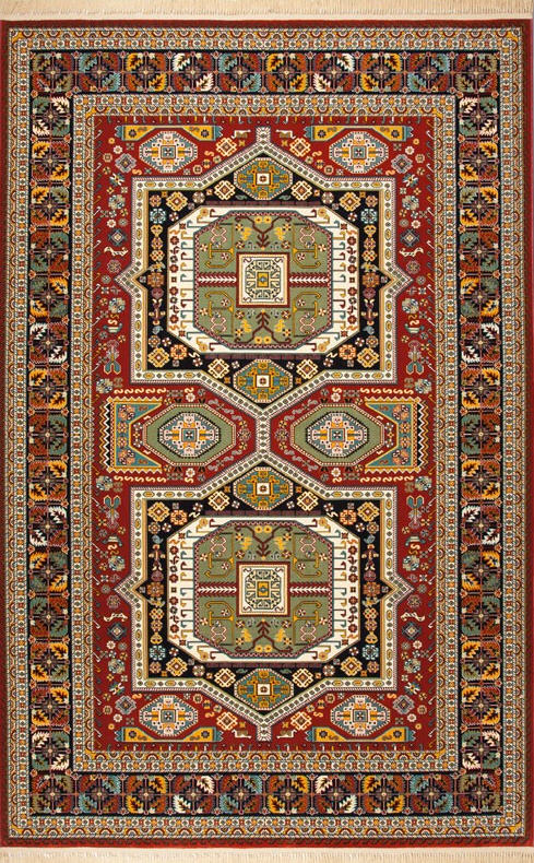 فروش  فرش ابریشم مصنوعی 6