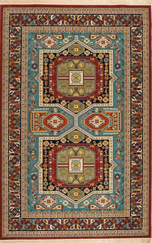 فروش  فرش ابریشم مصنوعی 7
