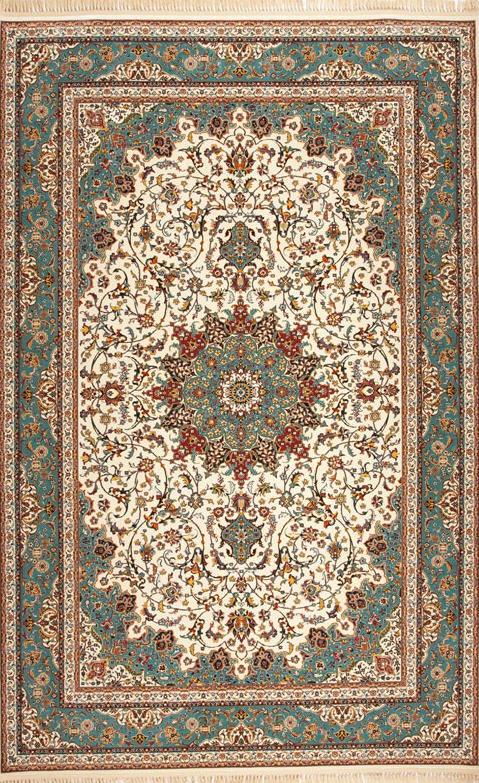 فروش  فرش ابریشم مصنوعی 9