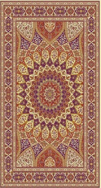 فروش  فرش ابریشم مصنوعی 10