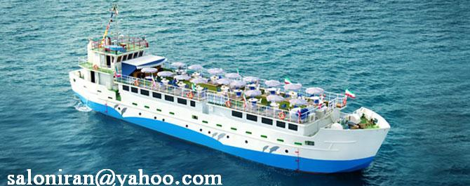 فروش  Tourism pleasure vessel restaurant ship For sale iran