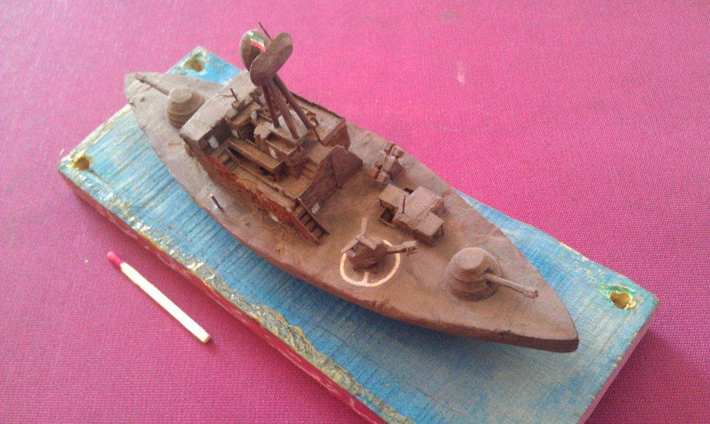 فروش  کشتی جنگی چوبی