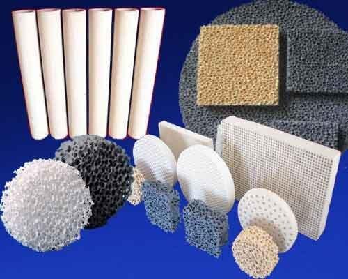 فروش   انواع فیلتر فوم های سرامیکیCeramic Foam Filter