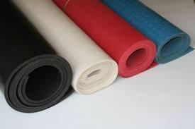 فروش  تولیدانواع ورقهای لاستیکی به صورت خام و لاستیک ولکانیزه شده(پخته شده)