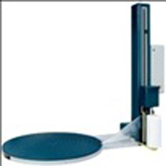 فروش  طراحی و ساخت انواع دستگاه بسته بندی استرچ پالت (پالت استرچر)