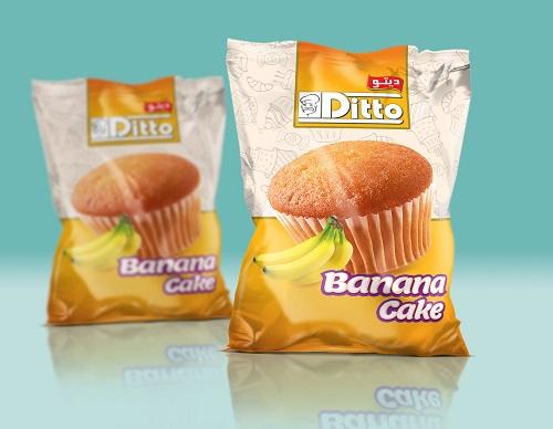 فروش  Banana cake