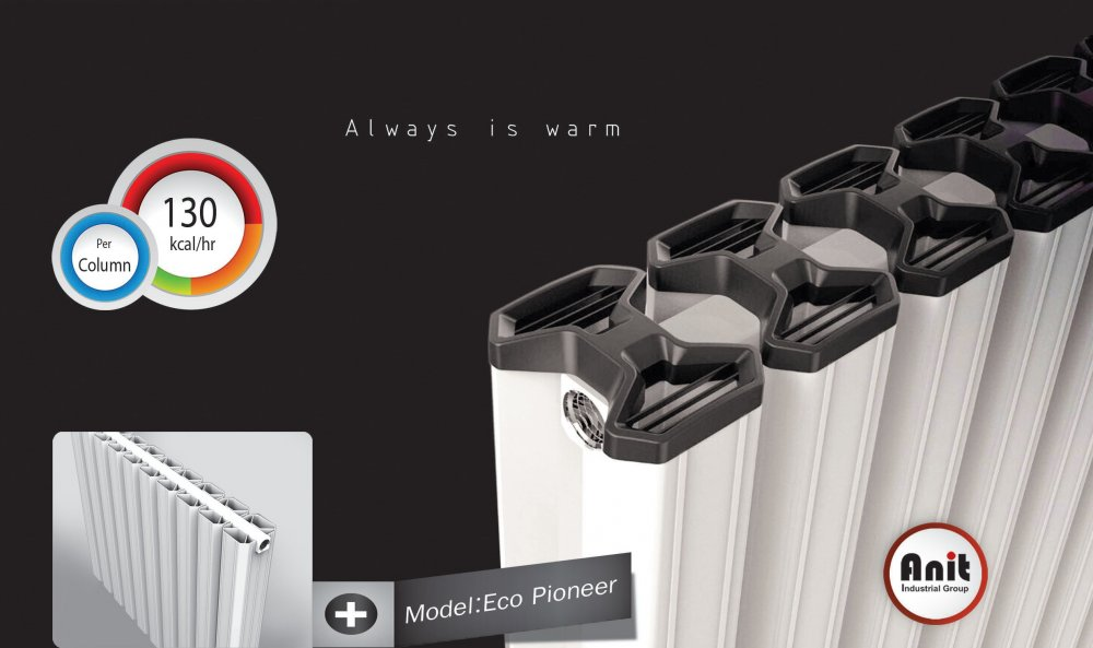 فروش  Aluminium Radiator '' A+ Energy Level'' . Model Name : Eco- Pioneer