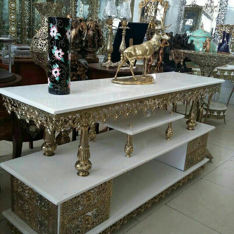 فروش  Bronze tv desk furniture antique