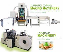 خرید کن ستگاه های دست دوم و کارکرده تولید ظروف یک بار مصرف کاغذی و آلومینیومی , دستگاه دست دوم لیوان کاغذی