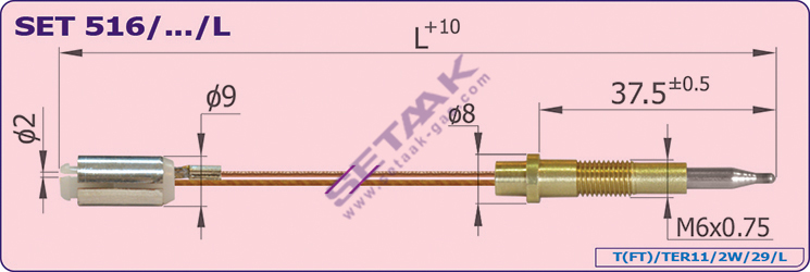 فروش  Thermocouple
