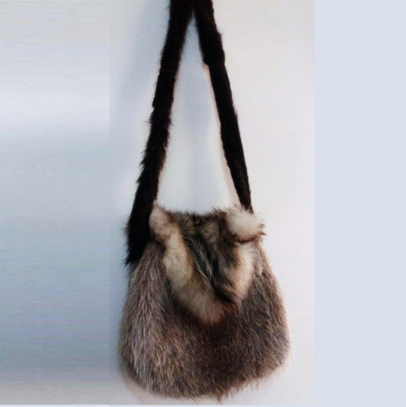 خرید کن The natural wolf bag ;کیف پوست طبیعی گرگ