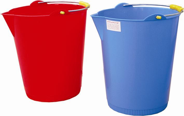 خرید کن سطل مدرج 17 لیتری