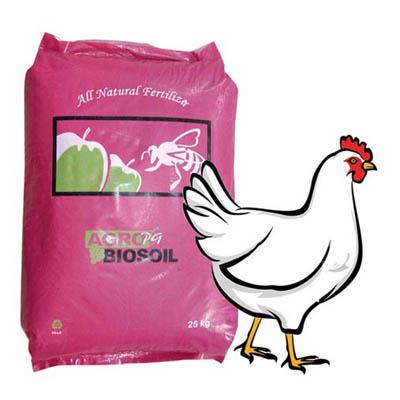 فروش  کود مرغي گرانوله (آگروبیوسیل) کیمیا