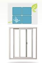 فروش  پنجره دو لنگه کشویی