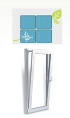 فروش  پنجره لولایی بازشو از بالا Tilt