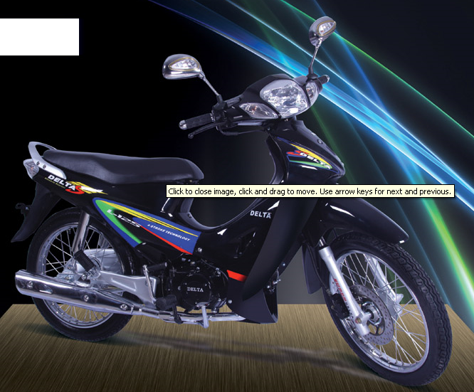 فروش  موتور سیکلت دلتا 125 L اسپرت