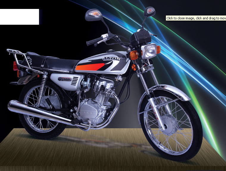 خرید کن آلتون موتور سیکلت CG125CDI