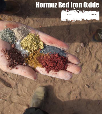 خرید کن Natural Hormuz red iron oxide(PG red oxide)