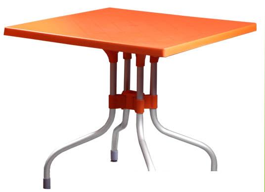 میز ۴ نفر تا شو پایه آلومینیوم