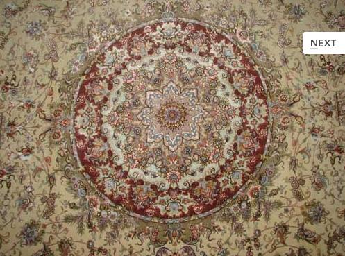 قیمت فرش ابریشم