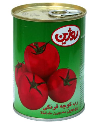 فروش  رب گوجه فرنگی نيم کيلو گرمی روژين