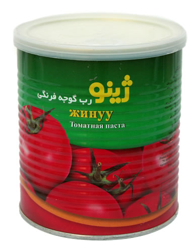 فروش  رب گوجه فرنگی يک کيلو گرمی ژينو