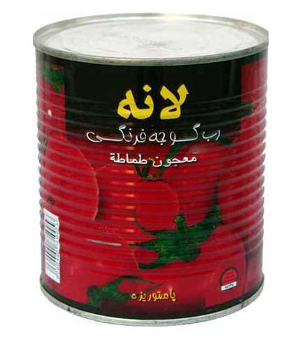 فروش  رب گوجه فرنگی يک کيلو گرمی لانه