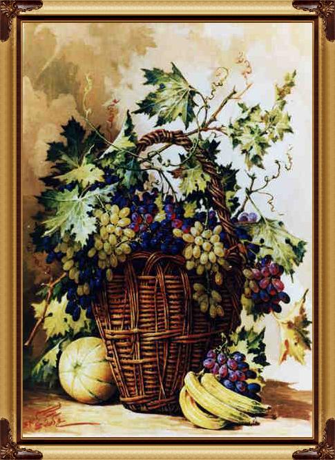 فروش  تابلو فرش میوه