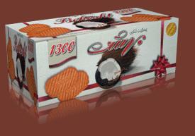 فروش  بیسکویت فانتزی 1300 نارگیلی