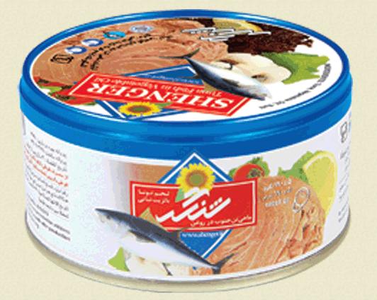 فروش  کنسرو ماهی تن در روغن مایع