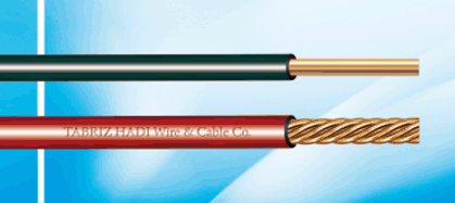فروش  Flaxible solid and standed conductor wires