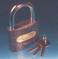 خرید کن قفل آويز چدنی آويز طوسی درگاهی CS و CX