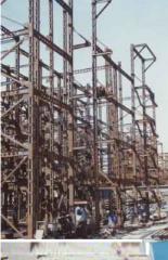 ساخت سازههاي بزرگ فولادي